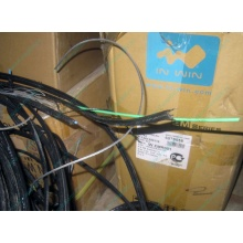 Оптический кабель Б/У для внешней прокладки (с металлическим тросом) в Челябинске, оптокабель БУ (Челябинск)