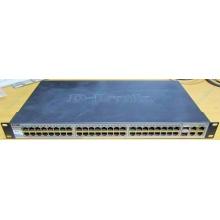 Управляемый коммутатор D-link DES-1210-52 48 port 10/100Mbit + 4 port 1Gbit + 2 port SFP металлический корпус (Челябинск)